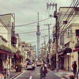 Улицы токио Стоковые Изображения RF