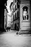 Улицы Флоренса Стоковая Фотография RF