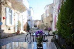 Улицы Alacati стоковые фото