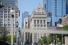 улицы chicago Стоковые Фотографии RF