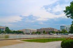 Улицы DC Вашингтона стоковые фотографии rf