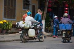 Улицы Hoi, Вьетнам Стоковое Фото