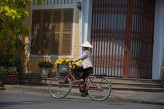 Улицы Hoi, Вьетнам Стоковое Изображение RF