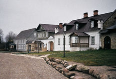 Улицы Izborsk Стоковое фото RF