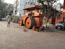 улицы kolkata попроек нищенских стоковые изображения