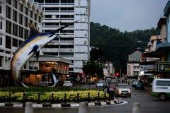 Улицы Kota Kinabalu Стоковая Фотография