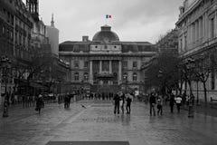улицы paris montmartre Стоковые Изображения