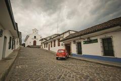 Улицы Popayan, Колумбии Стоковые Фотографии RF