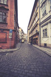 улицы prague Стоковая Фотография