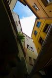 улицы prague стоковое изображение rf