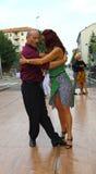 Улиц-танго в Монце 14-ого мая 2017 Стоковая Фотография RF