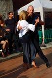 Улиц-танго в Монце 14-ого мая 2017 Стоковое Изображение RF