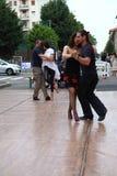 Улиц-танго в Монце 14-ого мая 2017 Стоковые Изображения