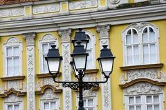 Уличные фонари на квадрате соединения Стоковая Фотография RF