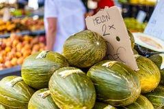Уличный рынок еды в Испании Стоковое фото RF
