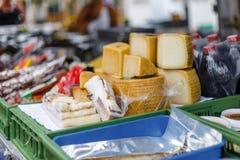 Уличный рынок еды в Испании Стоковая Фотография RF