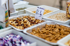 Уличный рынок еды в Испании Стоковые Фотографии RF