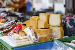 Уличный рынок еды в Испании Стоковое Изображение RF