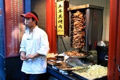 Уличный рынок Пекина Стоковое Изображение
