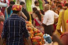 Уличный рынок Стоковые Фото