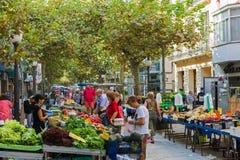 Уличный рынок Стоковая Фотография RF