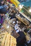 Уличный рынок 2 стоковое изображение