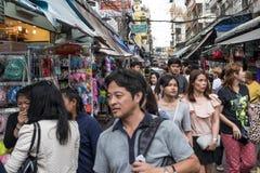 Уличный рынок Стоковая Фотография