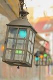 Уличный свет в городе Риги Стоковые Фотографии RF