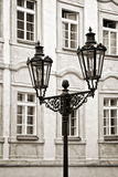Уличный свет в Праге Стоковые Фото