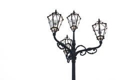 Уличный свет девятнадцатого века Стоковые Изображения