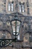 Уличный свет Прага Стоковые Изображения