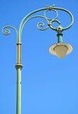 Уличный свет старого стиля стоковая фотография