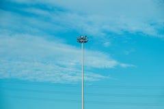 Уличный свет, уличный фонарь, столб лампы Стоковая Фотография