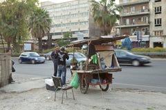Уличный торговец, Ливан Стоковое Изображение