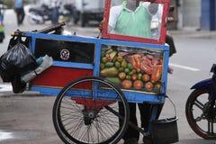 Уличный торговец стоковые изображения