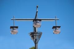 Уличный фонарь шарика Стоковые Изображения RF