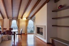 удобная живущая комната стоковое фото rf