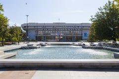 Уловка Hall муниципалитета стоковые фотографии rf