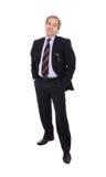 удовлетворяемый бизнесмен Стоковое Изображение RF