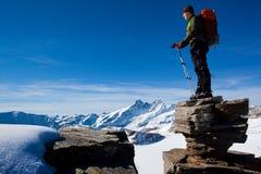 удовольствие горы Стоковое Фото