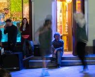 Уловленный танец улицы Стоковые Фото