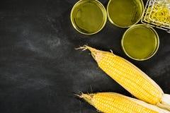 Улучшенная еда исследования и продукции мозоли золота Стоковая Фотография