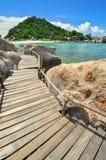 Улучшите тропического залива на Koh Дао рай Стоковые Фотографии RF