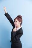 Улыбка бизнес-леди к вам Стоковые Изображения RF