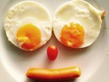 улыбка завтрака Стоковая Фотография RF