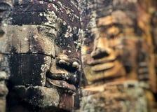 Улыбка кхмера Стоковое Фото