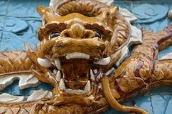 Улыбка дракона Стоковое Фото