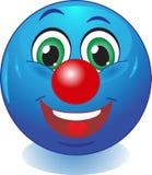 Улыбка. Хороший клоун. иллюстрация вектора
