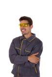 Улыбки работника Стоковое Изображение RF
