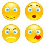 Улыбки эмоции Стоковые Фото